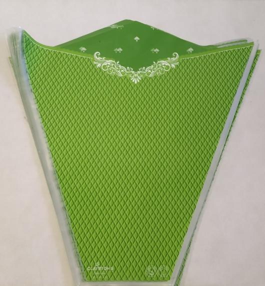 ΣΑΚΟΥΛΑ 2 ΧΡΩΜΑΤΩΝ DIAMOND ROUGE + GREEN  50X44X12 50TEM