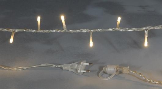 ΛΑΜΠΑΚΙΑ 100 LED ΕΠΕΚΤΕΙΝ.ΔΙΑΦ.ΚΑΛΩΔΙΟ/ΘΕΡΜΟ ΦΩΣ 6,5Μ